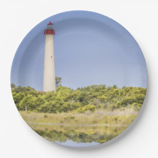 Cape May Lighthouse Paper Plates
