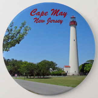 Cape May Lighthouse Pinback Button