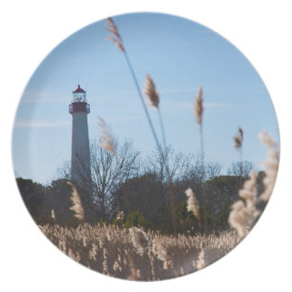 Cape May lighthouse Plate