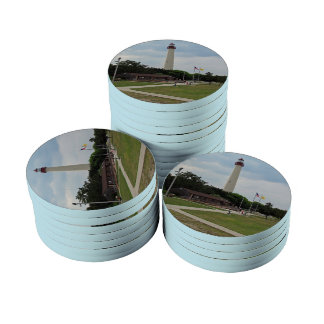Cape May Lighthouse Poker Chips