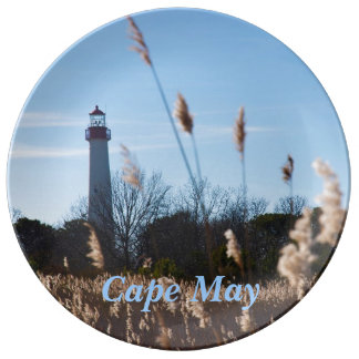 Cape May lighthouse Porcelain Plates