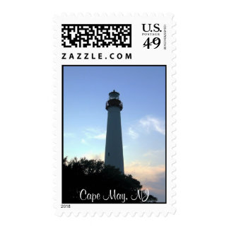 Cape May Lighthouse Postage Stamps