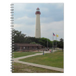 Cape May Lighthouse Spiral Note Book