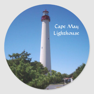 Cape May Lighthouse Stickers