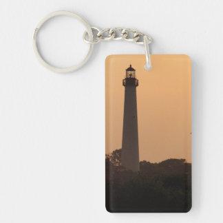 Cape May Lighthouse, Sunset Keychain