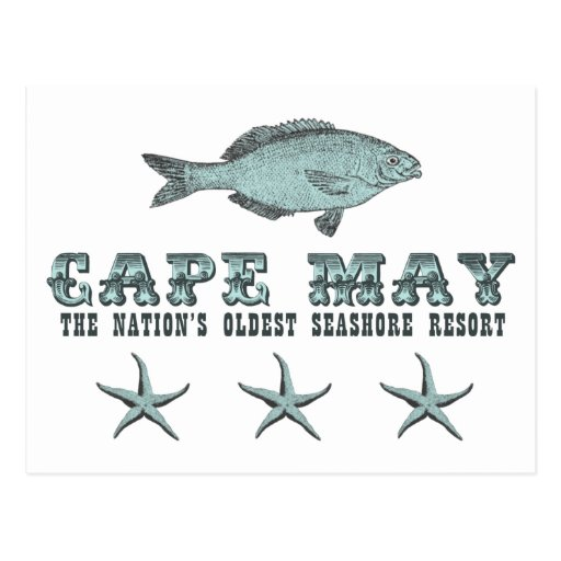 Cape May Nation's Oldest Seashore Resort Postcard