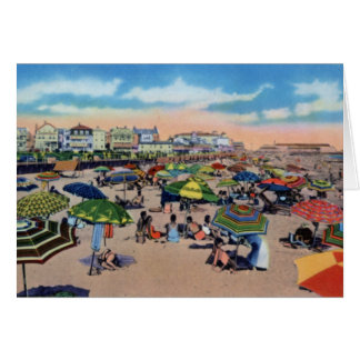 Cape May New Jersey At the Beach Greeting Card