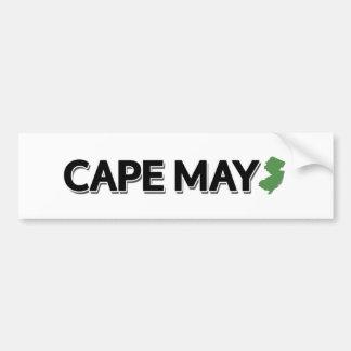 Cape May, New Jersey Bumper Sticker
