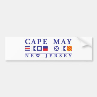 Cape May New Jersey Bumper Sticker