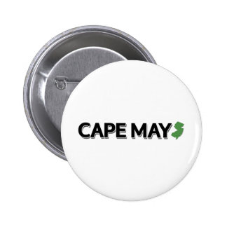 Cape May New Jersey Button