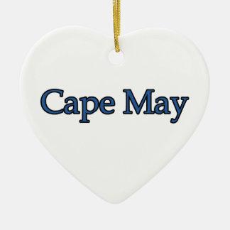 Cape May New Jersey Adorno De Navidad
