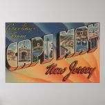 Cape May, New Jersey - escenas grandes de la letra Póster