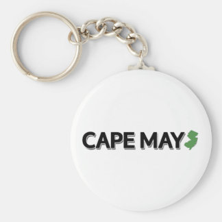 Cape May, New Jersey Keychain