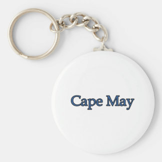 Cape May New Jersey Keychain