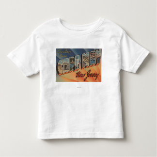 Cape May, New Jersey - Large Letter Scenes Toddler T-shirt