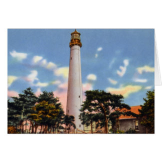 Cape May New Jersey Light House Greeting Card