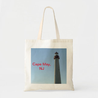 Cape May New Jersey Lighthouse Bag
