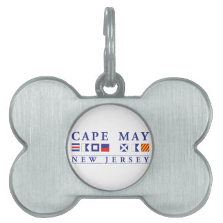 Cape May New Jersey Pet Name Tag