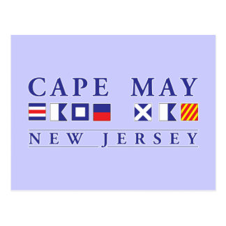 Cape May New Jersey Postcard