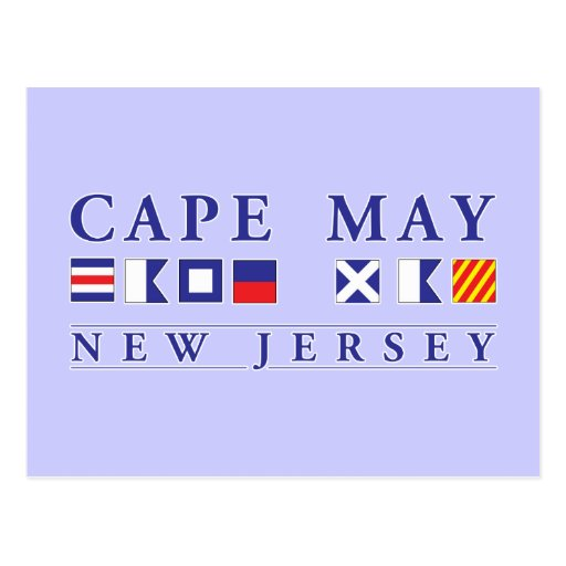 Cape May New Jersey Postcards