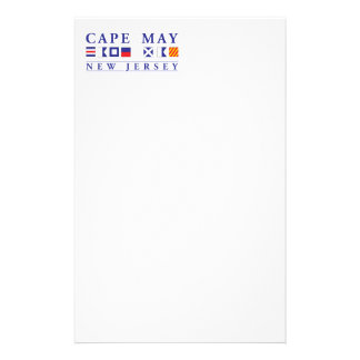 Cape May New Jersey Stationery