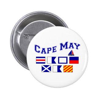 Cape May NJ - 2 Button