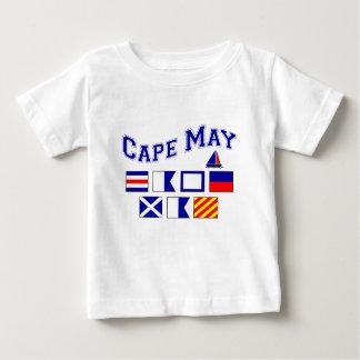 Cape May, NJ - 2 Playera De Bebé