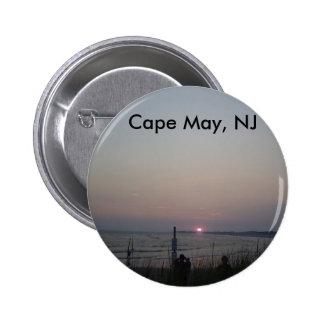 Cape May NJ Pinback Button