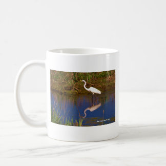 Cape May Point, NJ White Egret mug