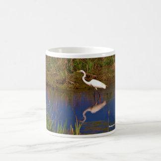 Cape May Point, NJ White Egret mug