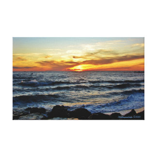 Cape May Point Sunset Canvas Print