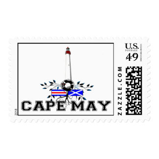 Cape May. Postage Stamps