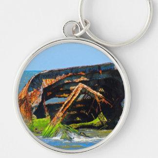 Cape May Shipwreck Keychain