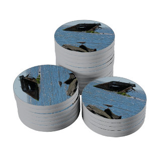 Cape May Shipwreck Set Of Poker Chips