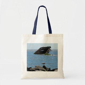 Cape May Shipwreck Tote Bag