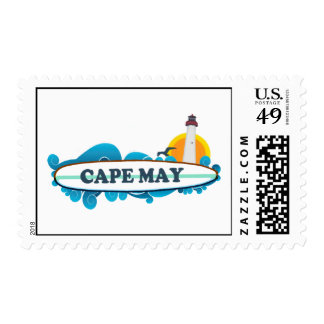 Cape May. Stamp