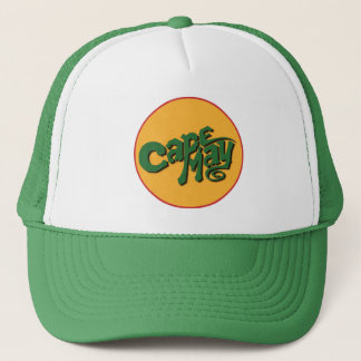 Cape May - Sun Logo Trucker Cap
