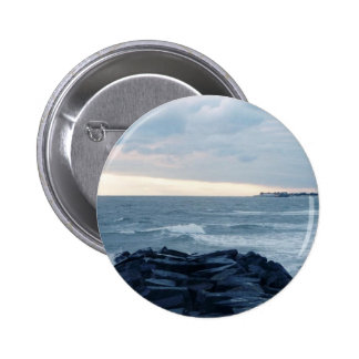 Cape May Sunset Pinback Buttons
