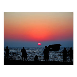 Cape May Sunset Postcard