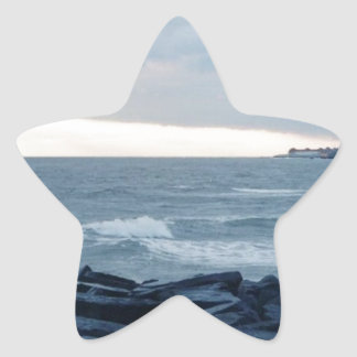 Cape May Sunset Star Sticker