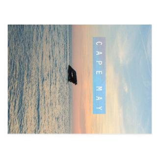 Cape May. Tarjeta Postal