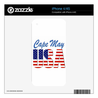 cape may usa 4.png decal for iPhone 4