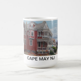 Cape May Victorian house/New Jersey Coffee Mugs