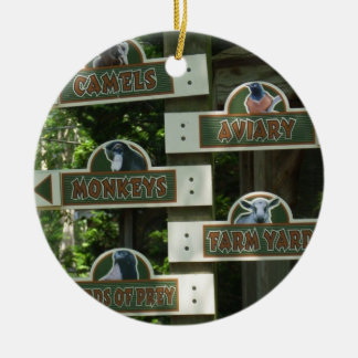 Cape May Zoo Christmas Ornament