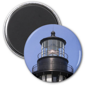 Cape Meares Lighthouse 2 Inch Round Magnet