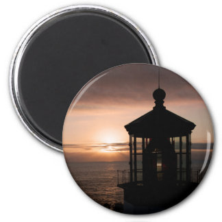 Cape Meares Lighthouse  4973 2 Inch Round Magnet