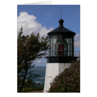Cape Meares Lighthouse Greeting Card