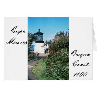 Cape Meares Lighthouse, Oregon Card