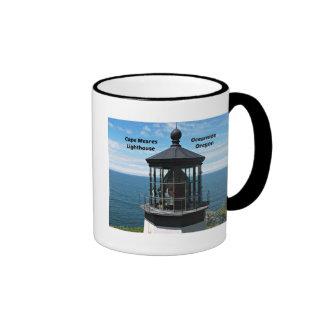 Cape Meares Lighthouse, Oregon Ringer Mug