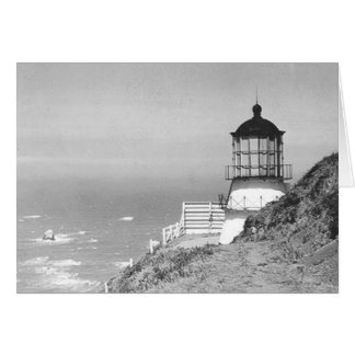 Cape Mendocino Lighthouse Card